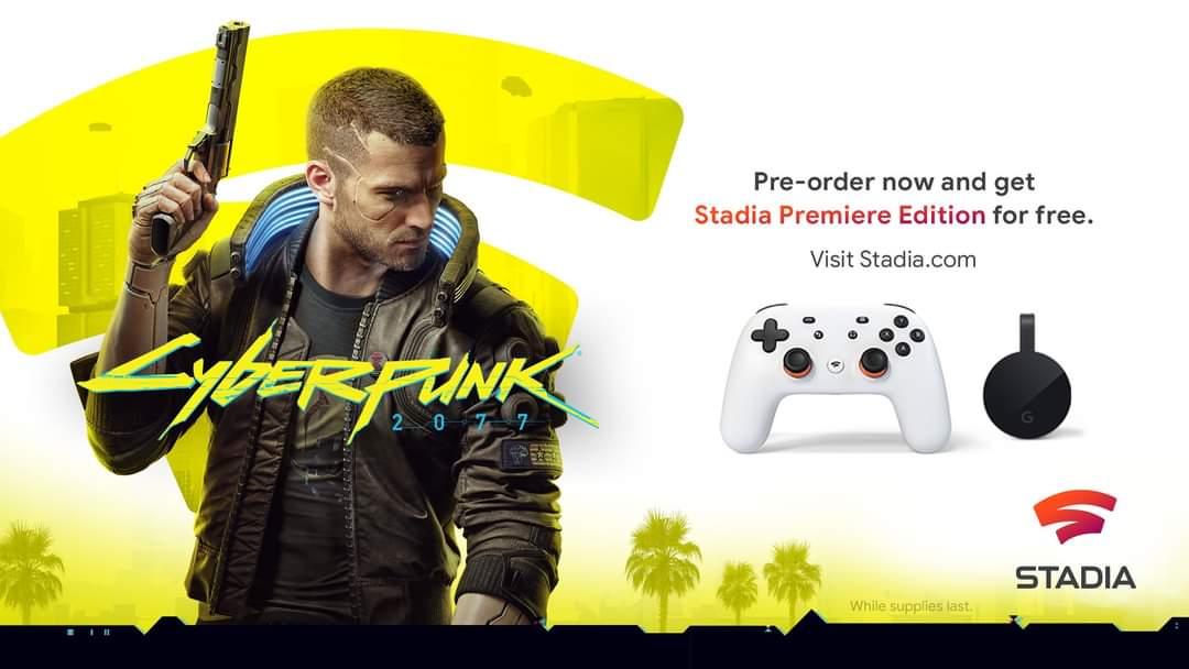 Breaking: Cyberpunk 2077 Pre-Orders to Receive Stadia Premiere Edition